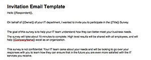 Invitation Email Template thumbnail