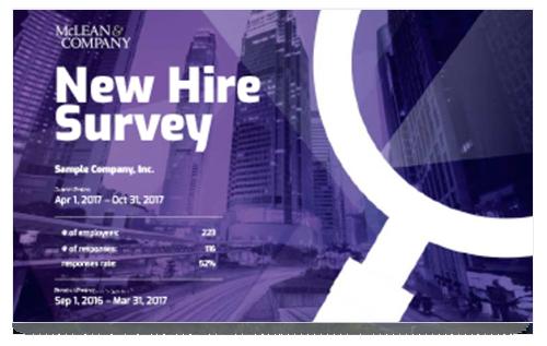 New Hire Survey